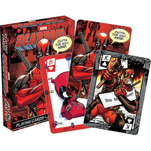 Marvel Deadpool Playing Cards - Cookie Jar Gifts, Toys & Collectables
