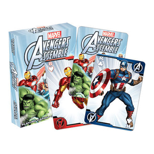 Avengers Assemble Youth Playing Cards | Cookie Jar - Home of the Coolest Gifts, Toys & Collectables