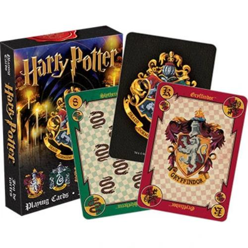 Harry Potter House Crests Playing Cards | Cookie Jar - Home of the Coolest Gifts, Toys & Collectables