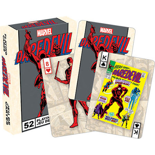 Marvel Daredevil Retro Playing Cards - Cookie Jar Gifts, Toys & Collectables