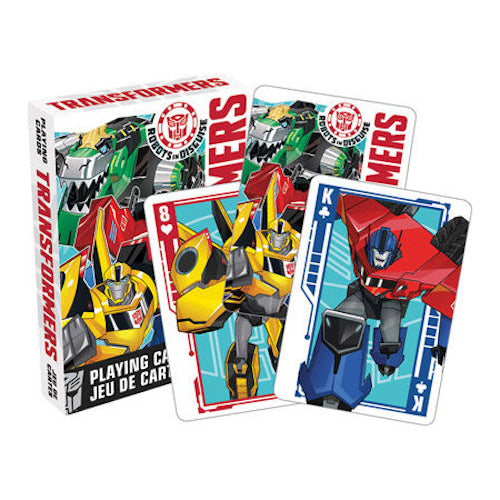 Transformers - Robots in Disguise Playing Cards | Cookie Jar - Home of the Coolest Gifts, Toys & Collectables