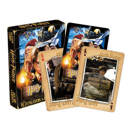 Harry Potter - Philosopher's Stone Playing Cards | Cookie Jar - Home of the Coolest Gifts, Toys & Collectables