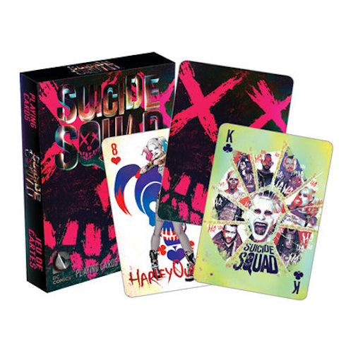 DC Comics Suicide Squad Playing Cards | Cookie Jar - Home of the Coolest Gifts, Toys & Collectables