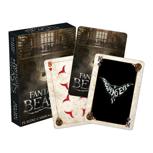 Fantastic Beasts Playing Cards | Cookie Jar - Home of the Coolest Gifts, Toys & Collectables
