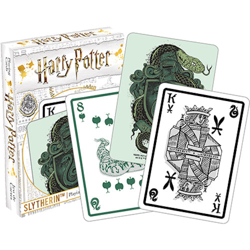 Harry Potter - Slytherin Playing Cards | Cookie Jar - Home of the Coolest Gifts, Toys & Collectables