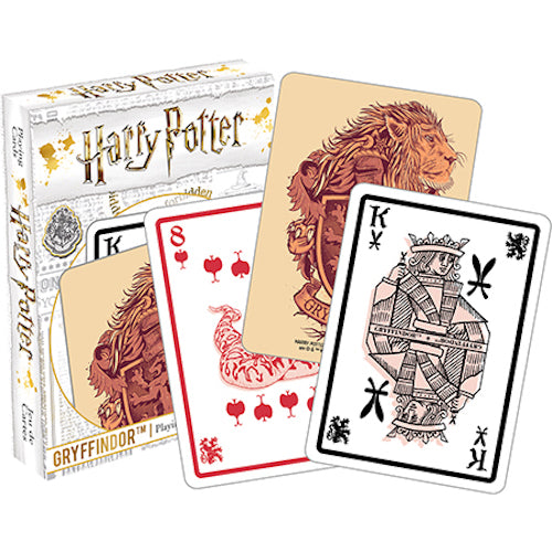 Harry Potter - Gryffindor Playing Cards | Cookie Jar - Home of the Coolest Gifts, Toys & Collectables