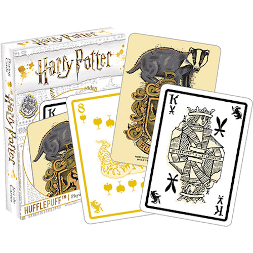 Harry Potter - Hufflepuff Playing Cards | Cookie Jar - Home of the Coolest Gifts, Toys & Collectables