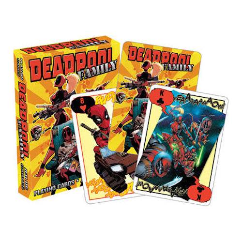 Marvel - Deadpool Family Playing Cards | Cookie Jar - Home of the Coolest Gifts, Toys & Collectables