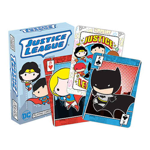 DC Comics - Chibi Playing Cards | Cookie Jar - Home of the Coolest Gifts, Toys & Collectables