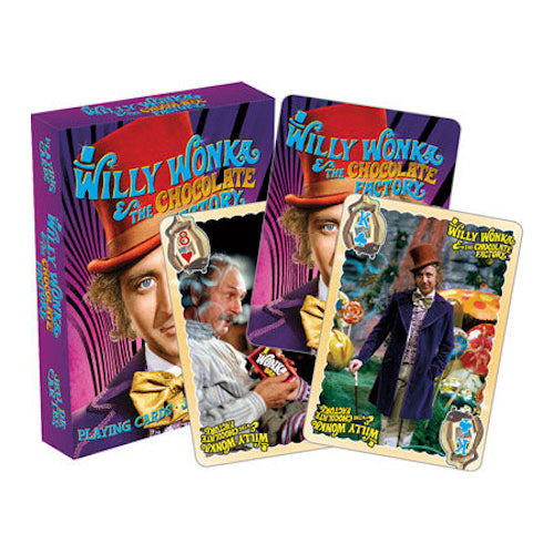 Willy Wonka Playing Cards | Cookie Jar - Home of the Coolest Gifts, Toys & Collectables