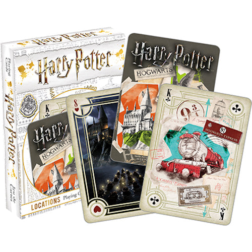 Harry Potter - Locations Playing Cards | Cookie Jar - Home of the Coolest Gifts, Toys & Collectables