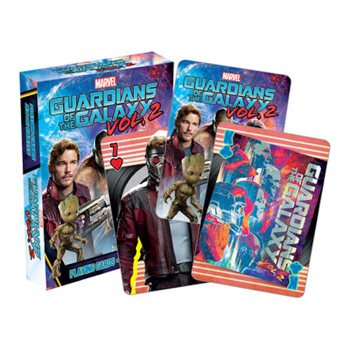 Guardians Of The Galaxy Vol 2. Playing Cards