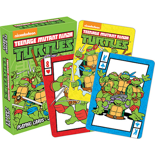TMNT - Retro Playing Cards | Cookie Jar - Home of the Coolest Gifts, Toys & Collectables