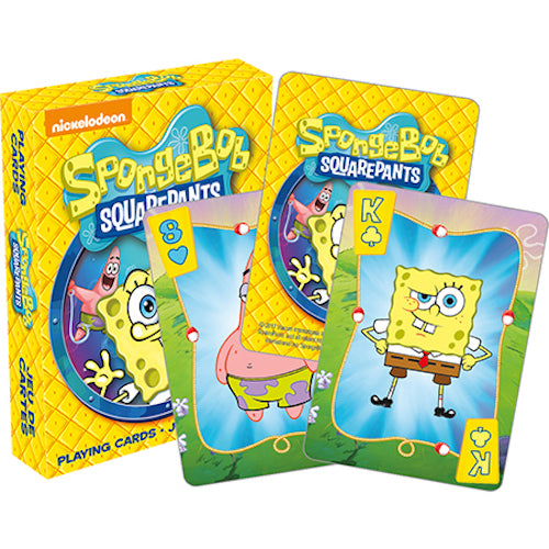 SpongeBob SquarePants Playing Cards | Cookie Jar - Home of the Coolest Gifts, Toys & Collectables