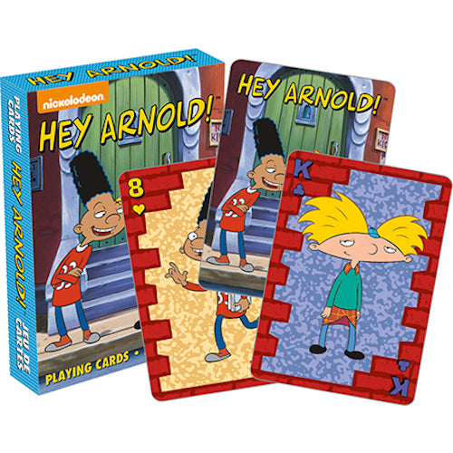 Hey Arnold! Playing Cards | Cookie Jar - Home of the Coolest Gifts, Toys & Collectables