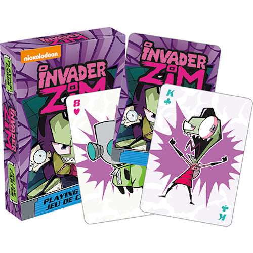 Invader Zim Playing Cards | Cookie Jar - Home of the Coolest Gifts, Toys & Collectables