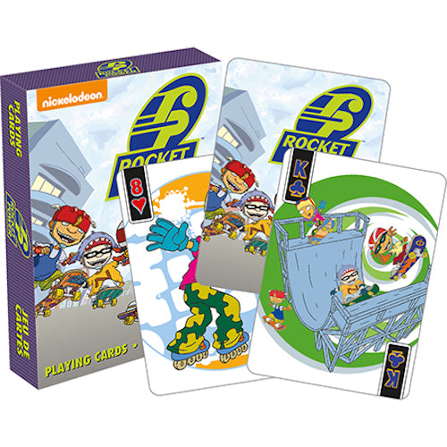 Rocket Power Playing Cards | Cookie Jar - Home of the Coolest Gifts, Toys & Collectables