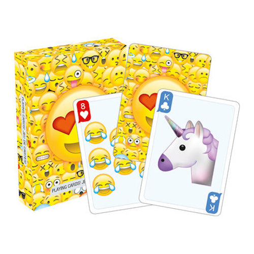 Emoticons 2.0 Playing Cards | Cookie Jar - Home of the Coolest Gifts, Toys & Collectables