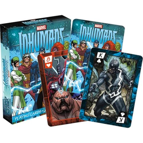 Marvel - Inhumans Playing Cards | Cookie Jar - Home of the Coolest Gifts, Toys & Collectables