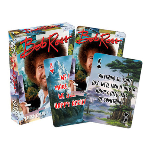 Bob Ross Quotes Playing Cards | Cookie Jar - Home of the Coolest Gifts, Toys & Collectables