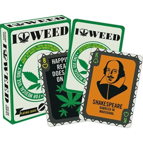 I Love Weed Playing Cards | Cookie Jar - Home of the Coolest Gifts, Toys & Collectables