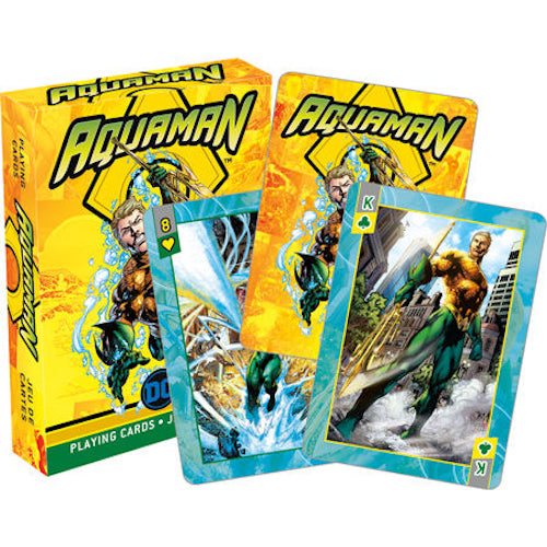 Aquaman - Comics Playing Cards | Cookie Jar - Home of the Coolest Gifts, Toys & Collectables