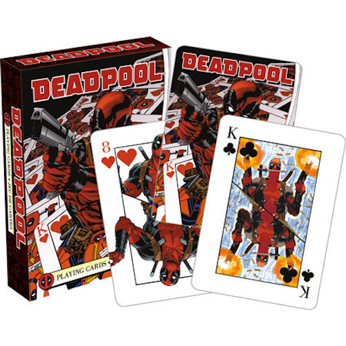 Marvel - Deadpool Mirror Playing Cards | Cookie Jar - Home of the Coolest Gifts, Toys & Collectables