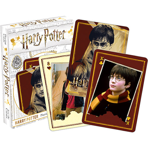 Harry Potter - Harry Playing Cards | Cookie Jar - Home of the Coolest Gifts, Toys & Collectables