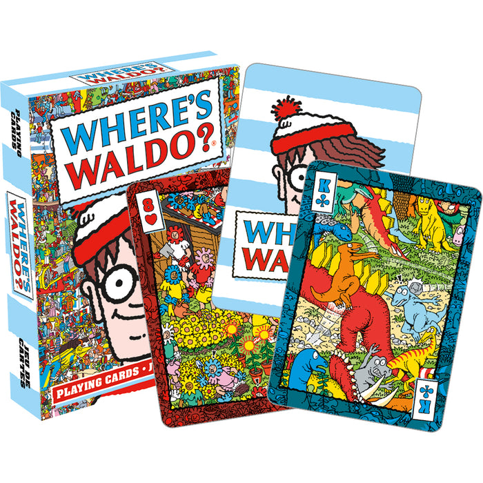 Where's Waldo Playing Cards | Cookie Jar - Home of the Coolest Gifts, Toys & Collectables