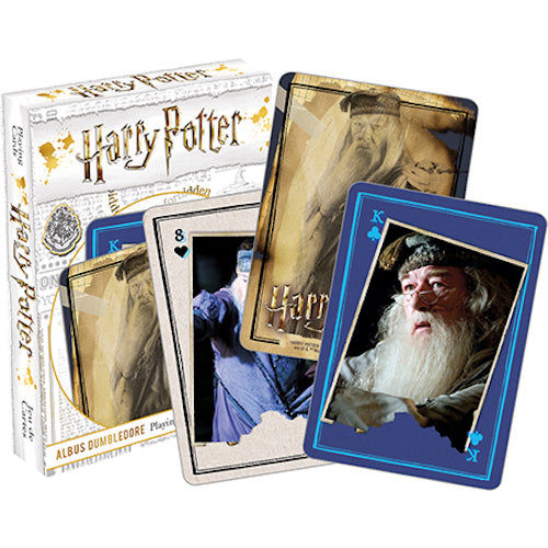 Harry Potter - Dumbledore Playing Cards | Cookie Jar - Home of the Coolest Gifts, Toys & Collectables
