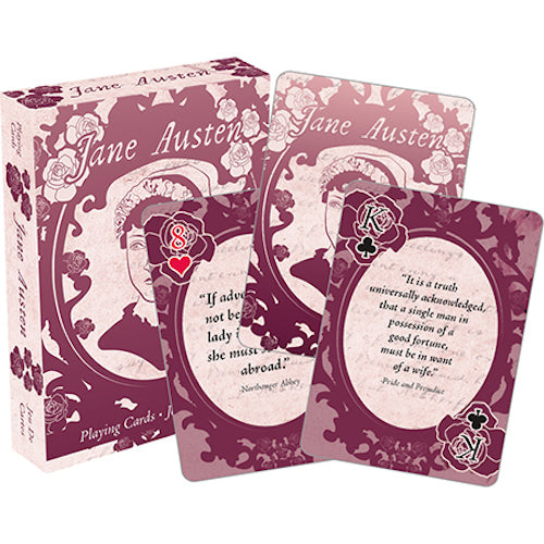 Jane Austen - Quotes Playing Cards