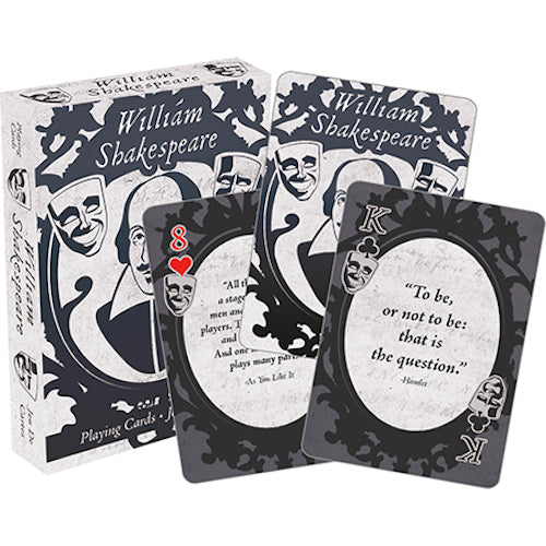 William Shakespeare - Quotes Playing Cards | Cookie Jar - Home of the Coolest Gifts, Toys & Collectables