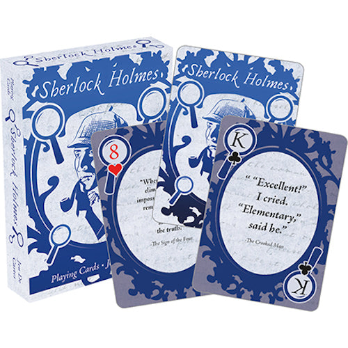 Sherlock Holmes - Quotes Playing Cards