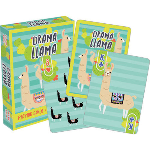 Drama Llama Playing Cards | Cookie Jar - Home of the Coolest Gifts, Toys & Collectables