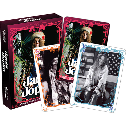 Janis Joplin Playing Cards | Cookie Jar - Home of the Coolest Gifts, Toys & Collectables