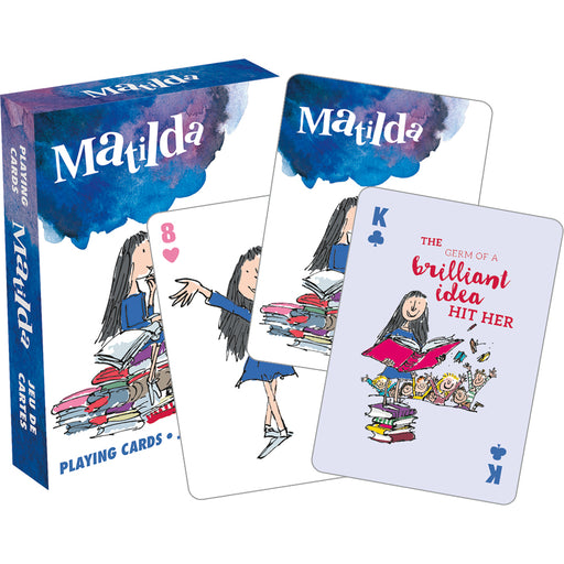 Roald Dahl - Matilda Playing Cards | Cookie Jar - Home of the Coolest Gifts, Toys & Collectables