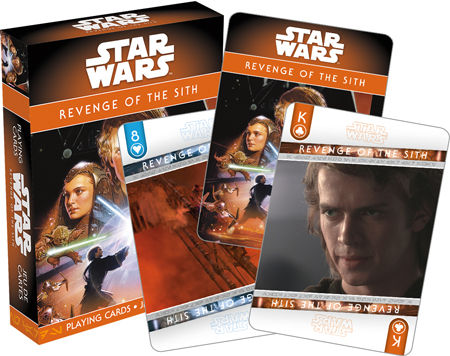 Star Wars - Ep. 3 Revenge Of The Sith Playing Cards | Cookie Jar - Home of the Coolest Gifts, Toys & Collectables