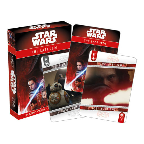 Star Wars - Ep. 8 The Last Jedi Playing Cards | Cookie Jar - Home of the Coolest Gifts, Toys & Collectables