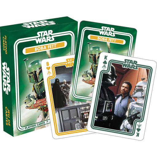 Star Wars ̐ Boba Fett Playing Cards | Cookie Jar - Home of the Coolest Gifts, Toys & Collectables