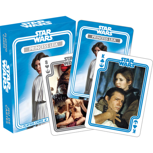 Star Wars Ð Princess Leia Playing Cards | Cookie Jar - Home of the Coolest Gifts, Toys & Collectables