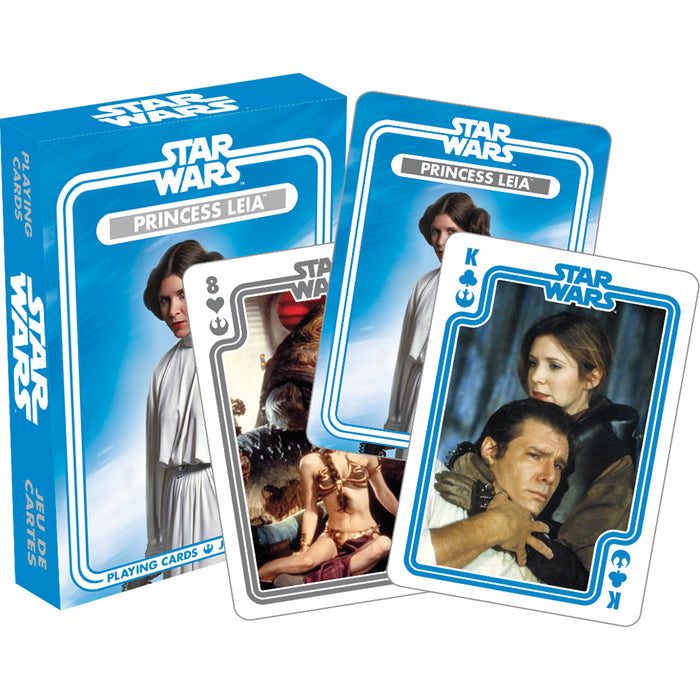 Star Wars - Princess Leia Playing Cards | Cookie Jar - Home of the Coolest Gifts, Toys & Collectables
