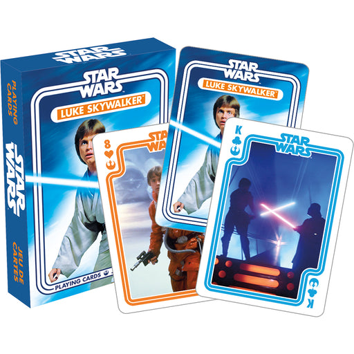 Star Wars - Luke Skywalker Playing Cards | Cookie Jar - Home of the Coolest Gifts, Toys & Collectables
