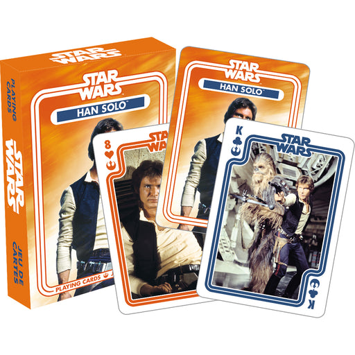 Star Wars - Han Solo Playing Cards | Cookie Jar - Home of the Coolest Gifts, Toys & Collectables