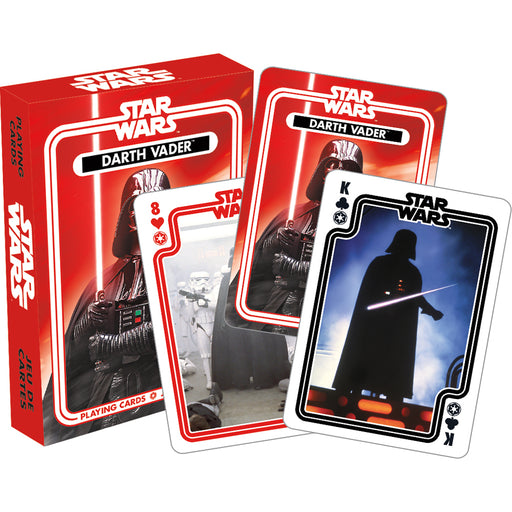Star Wars - Darth Vader Playing Cards | Cookie Jar - Home of the Coolest Gifts, Toys & Collectables