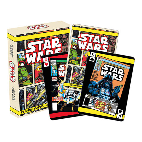 Star Wars - Comic Books Playing Cards | Cookie Jar - Home of the Coolest Gifts, Toys & Collectables