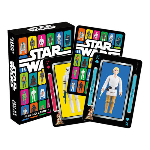 Star Wars - Action Figures Playing Cards | Cookie Jar - Home of the Coolest Gifts, Toys & Collectables