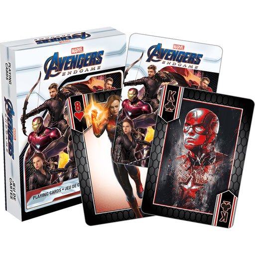 Marvel Avengers - End Game Playing Cards | Cookie Jar - Home of the Coolest Gifts, Toys & Collectables