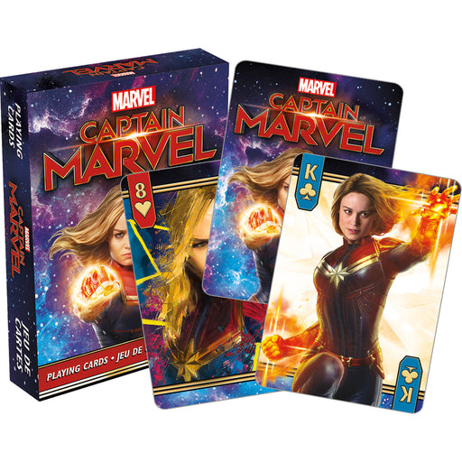 Captain Marvel Movie Playing Cards | Cookie Jar - Home of the Coolest Gifts, Toys & Collectables