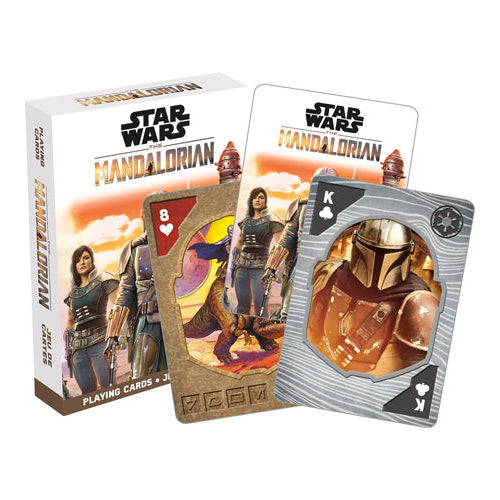 Star Wars - The Mandalorian Playing Cards | Cookie Jar - Home of the Coolest Gifts, Toys & Collectables