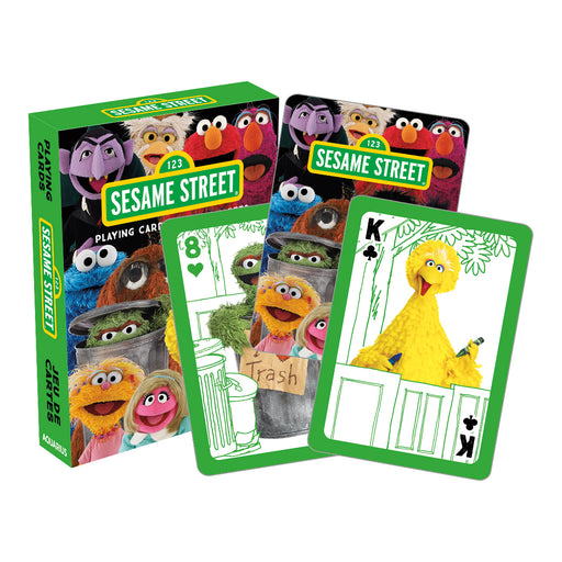 Sesame Street - Cast Playing Cards | Cookie Jar - Home of the Coolest Gifts, Toys & Collectables